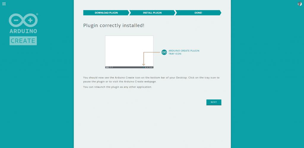 Arduino Web Editor Plugin Installation 4