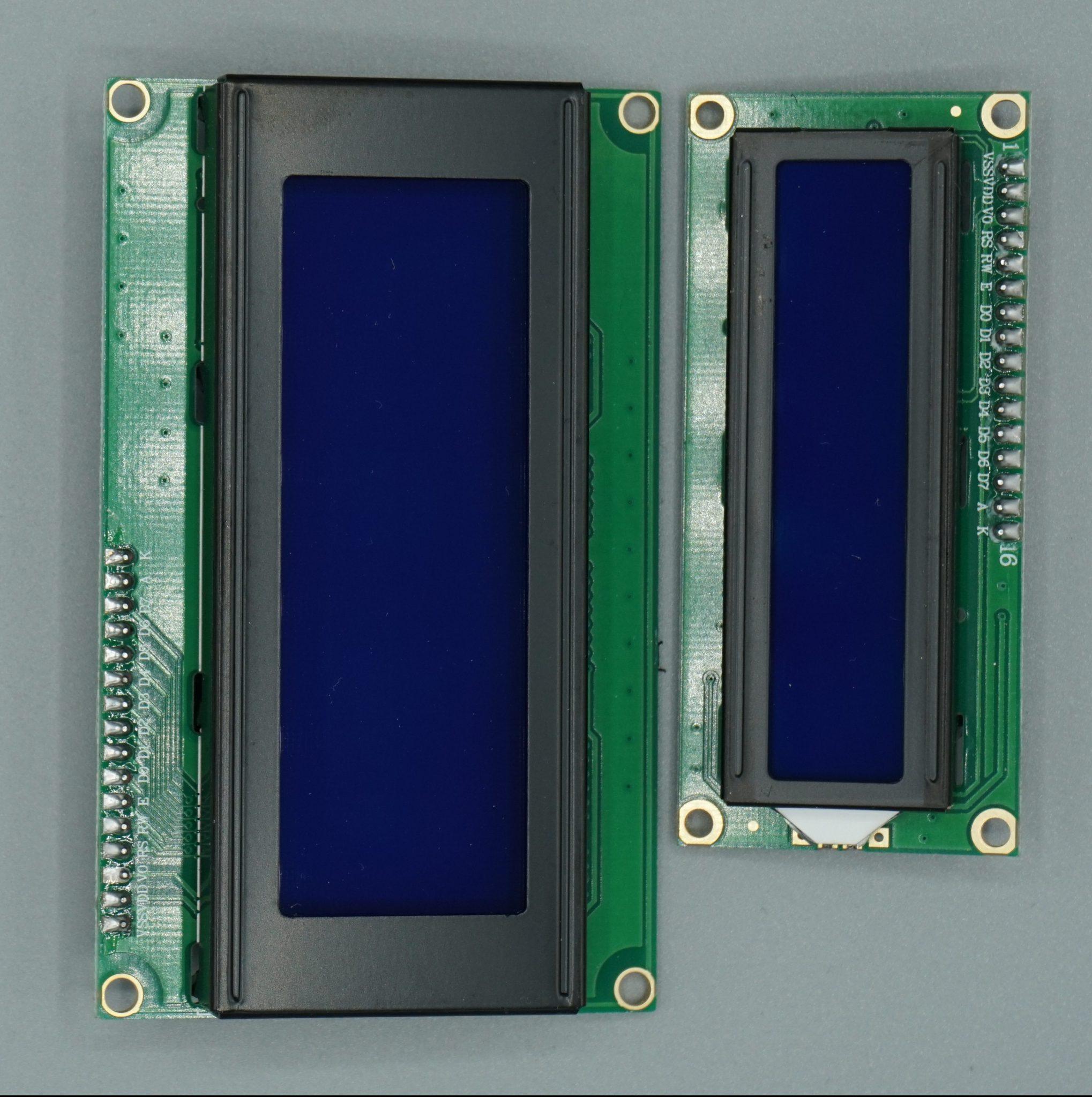 LCD display comparison