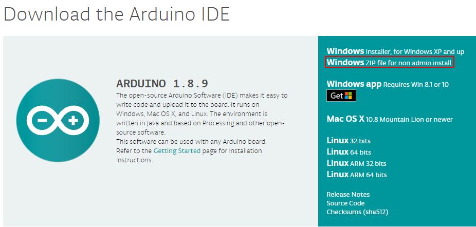 Installing Arduino IDE Part 1