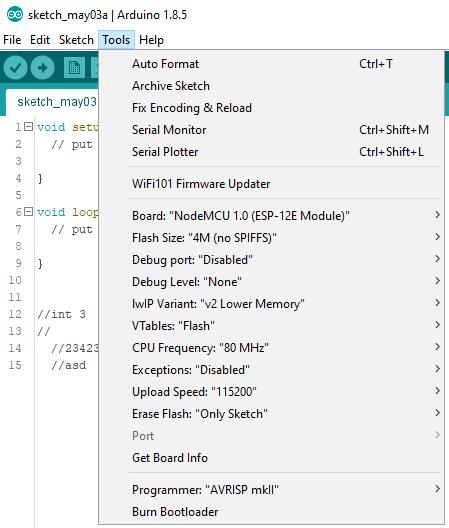 Arduino Desktop IDE Tools