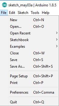 Arduino Desktop IDE File