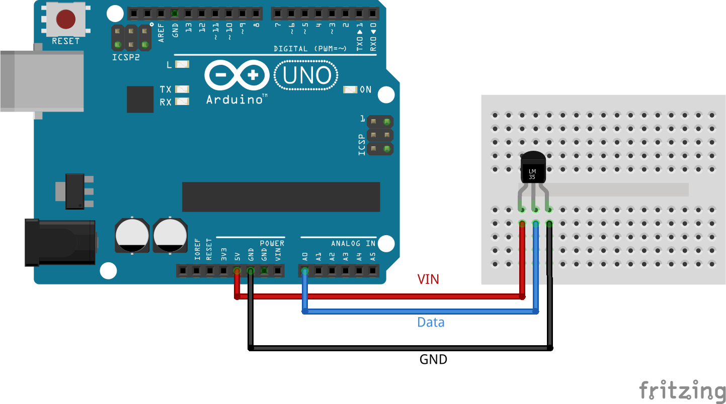 Arduino LM35