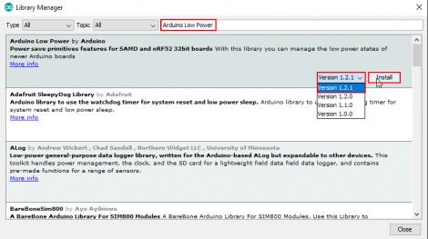 Arduino IDE library 3