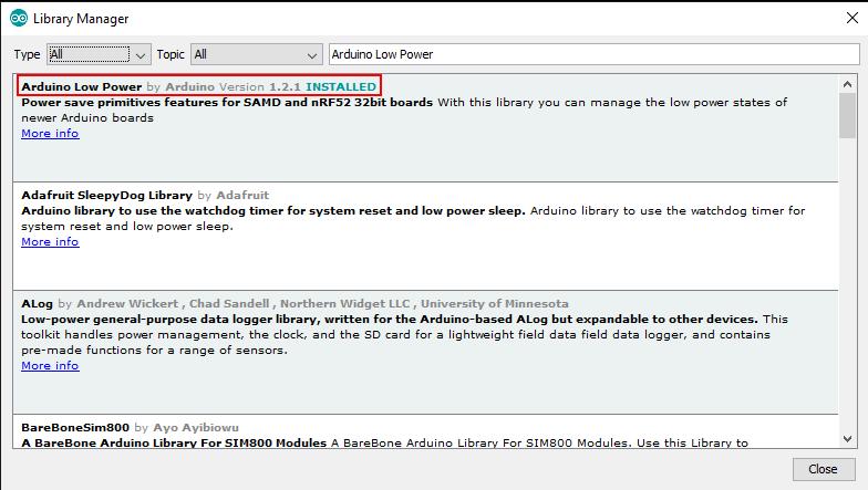 Arduino IDE library 4
