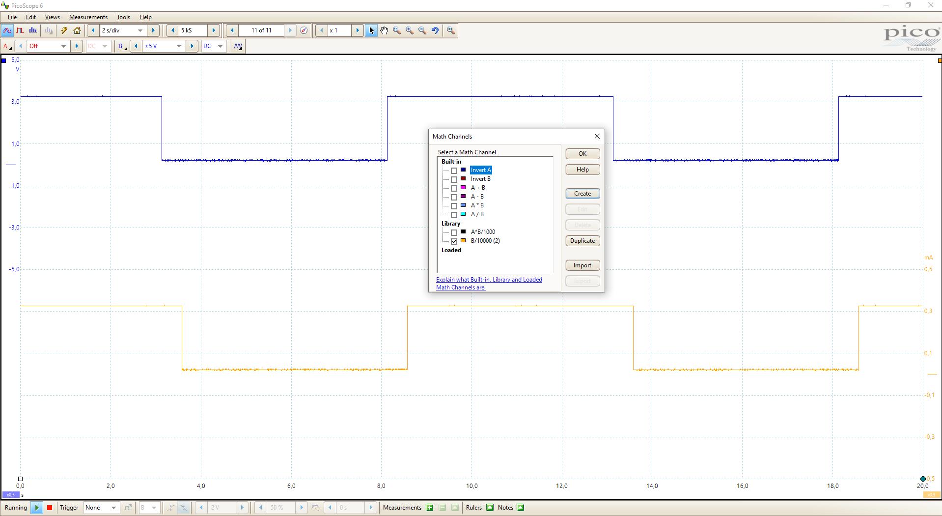 Oscilloscope Current Measurement