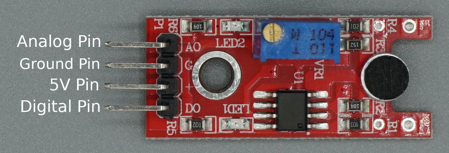 Sound Sensor Pinout
