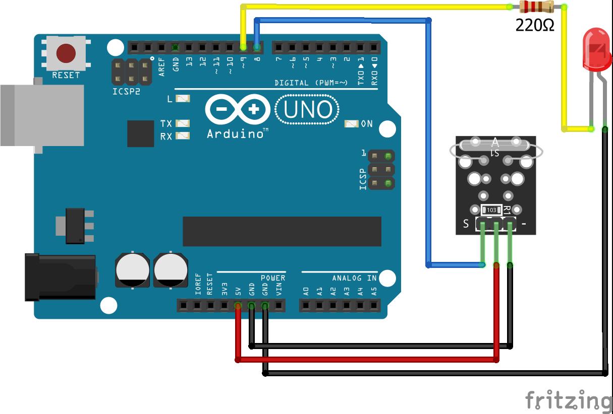 KY-021 Arduino