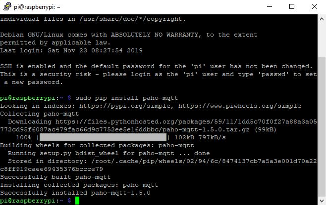 Python MQTT