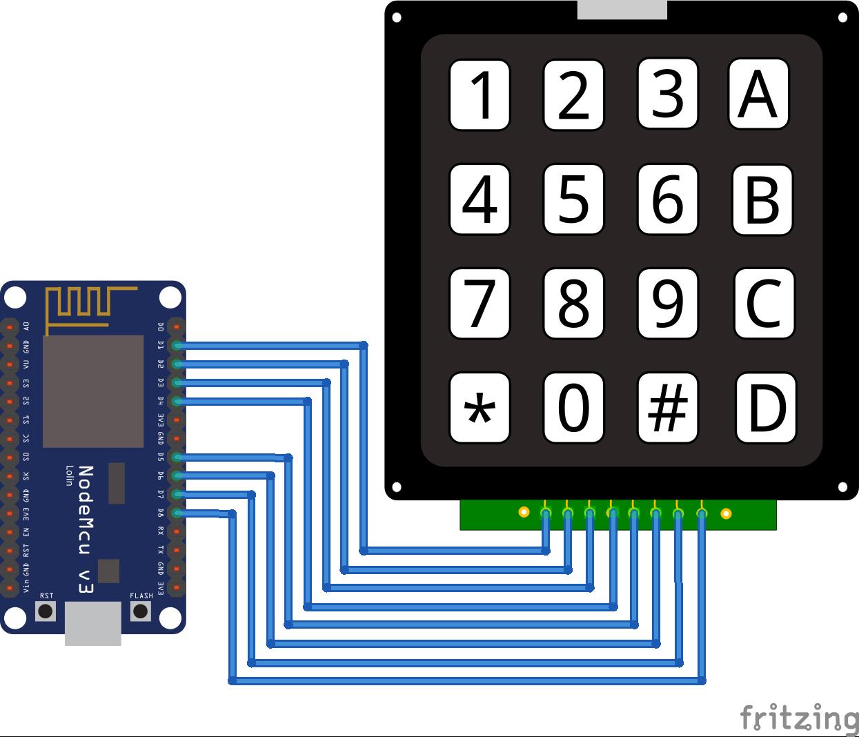 Keypad ESP8266