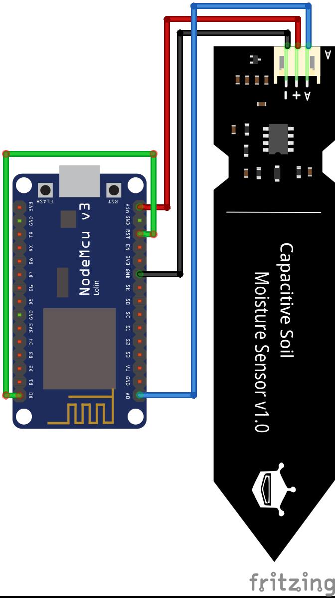 NodeMCU Moisture Sensor