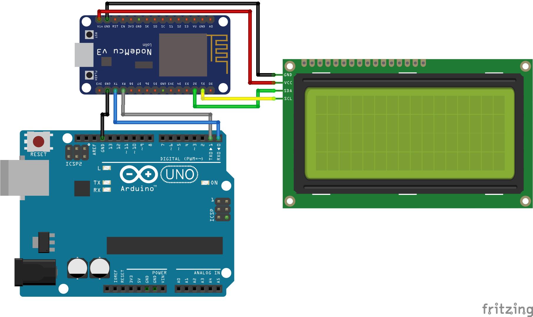 UART Communication Arduino and ESP8266