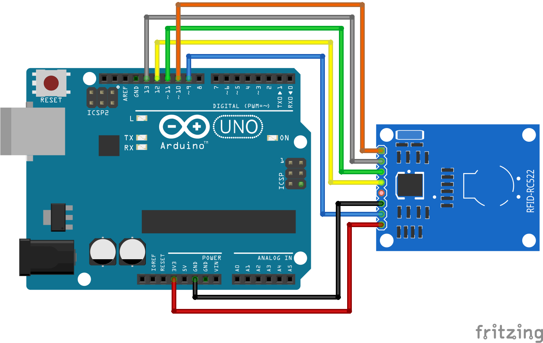 RFID RC522 Arduino Uno