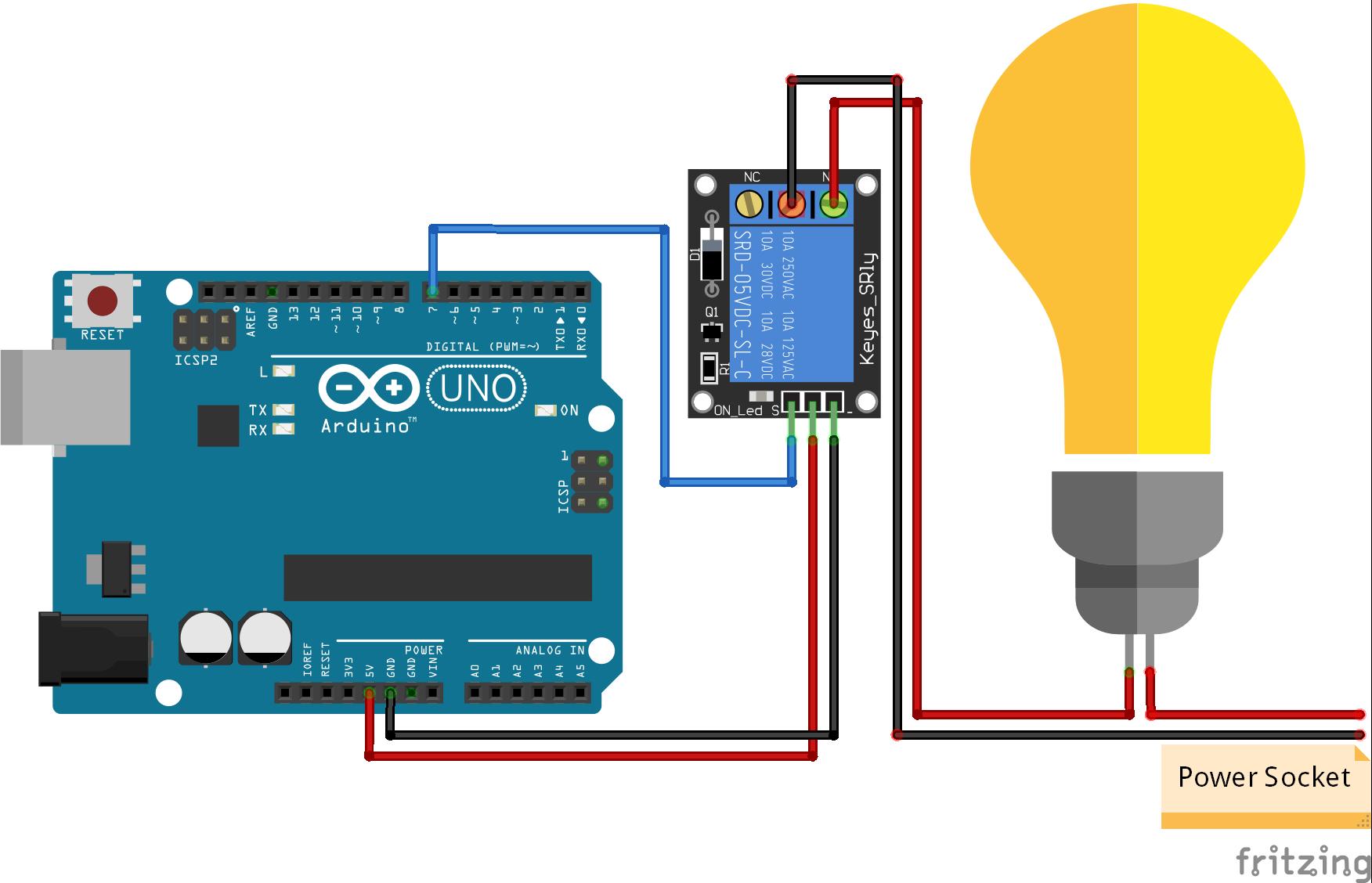 Relais Module Arduino Uno World
