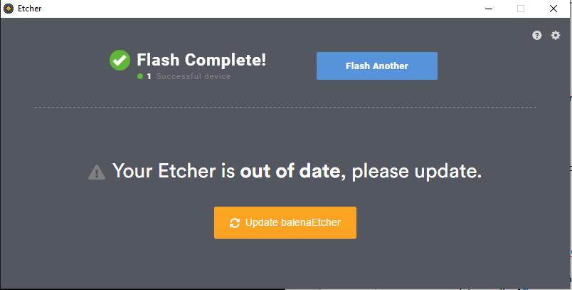 Etcher Complete