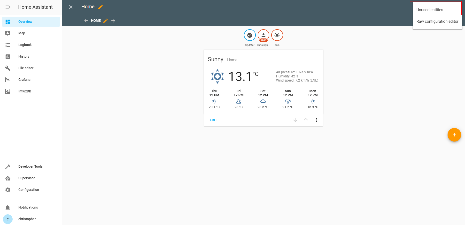 Home Assistant UI 2