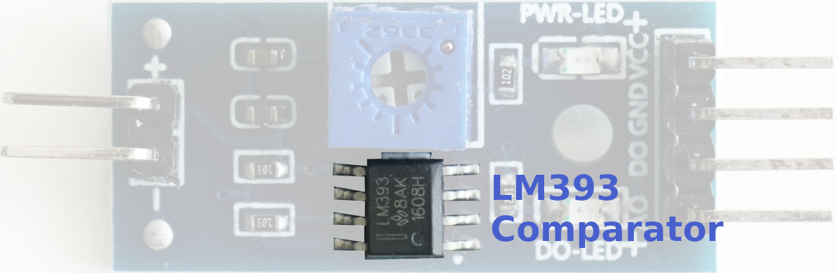 LM393 High Precision Comparator - Comparator