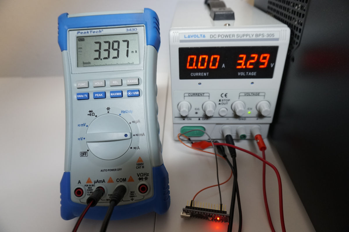 Arduino Power Consumption Measurement Setup