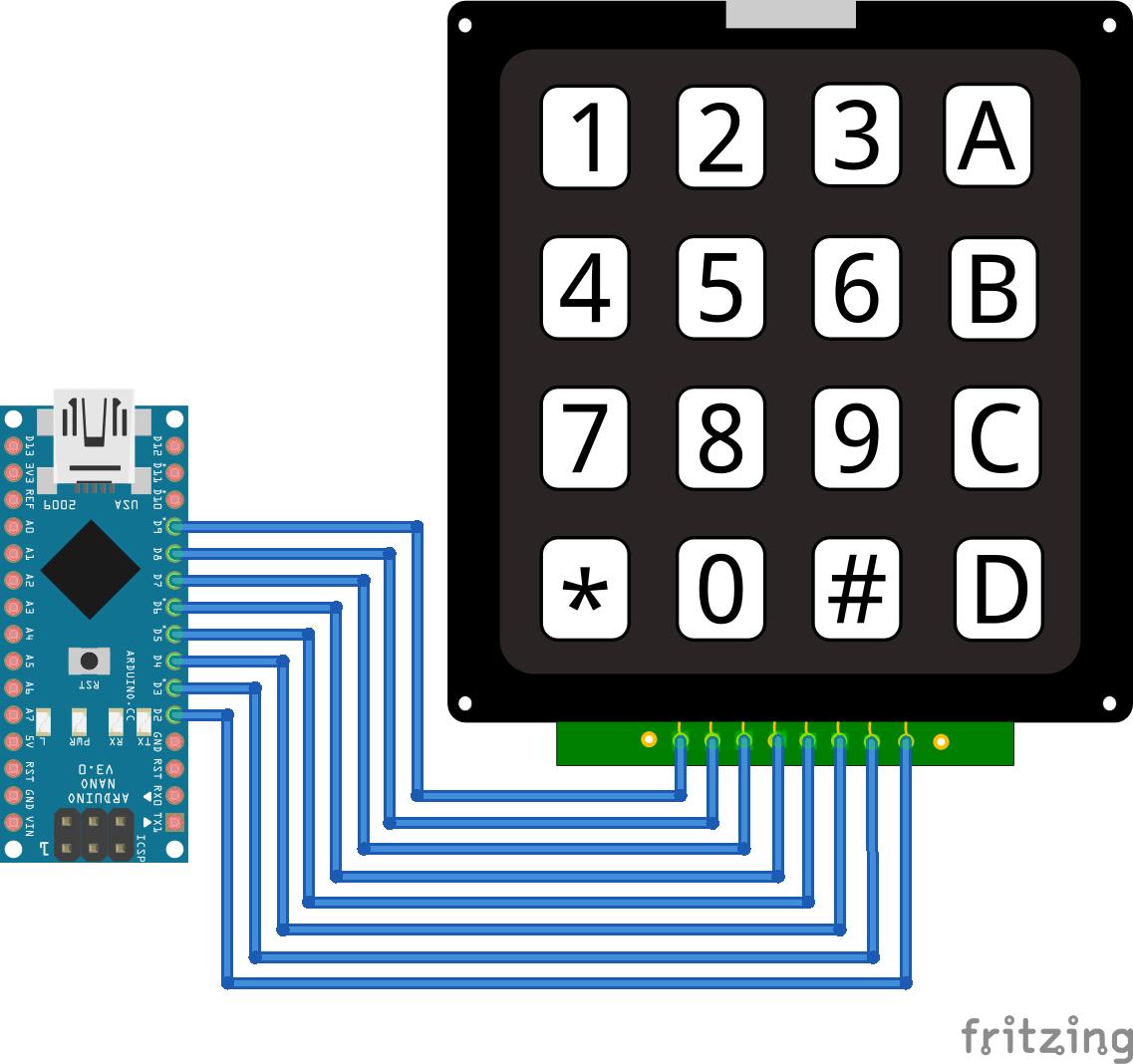Keypad Arduino Nano
