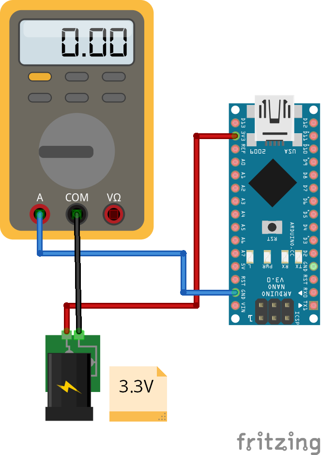 Reduce Operation Voltage Arduino Nano