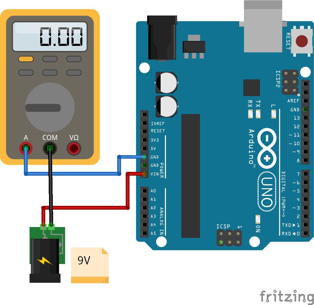 Reference Operation Voltage  Arduino Uno