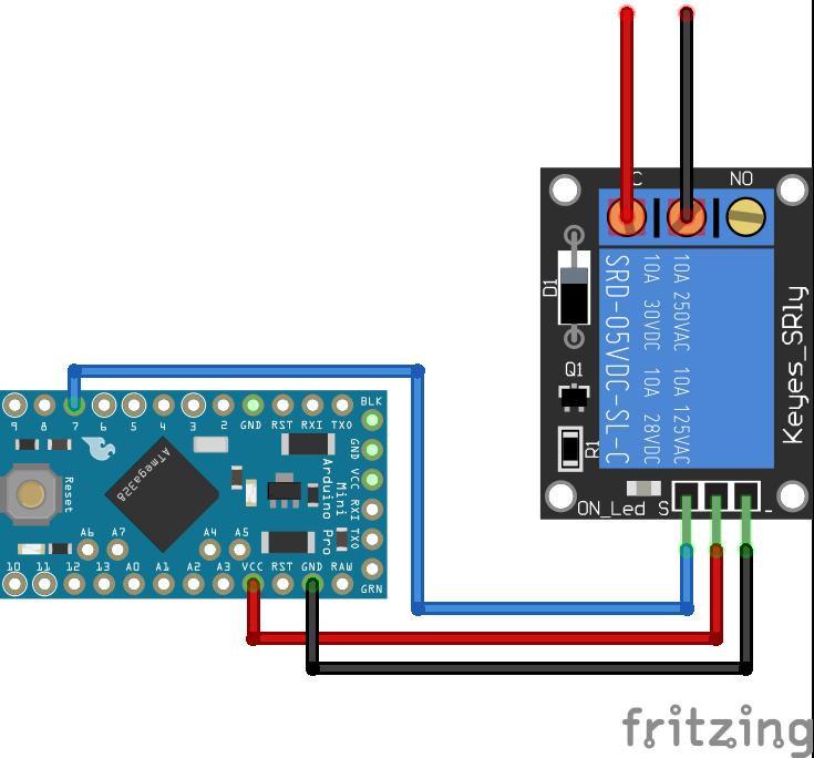 Relais Module Arduino Pro Mini