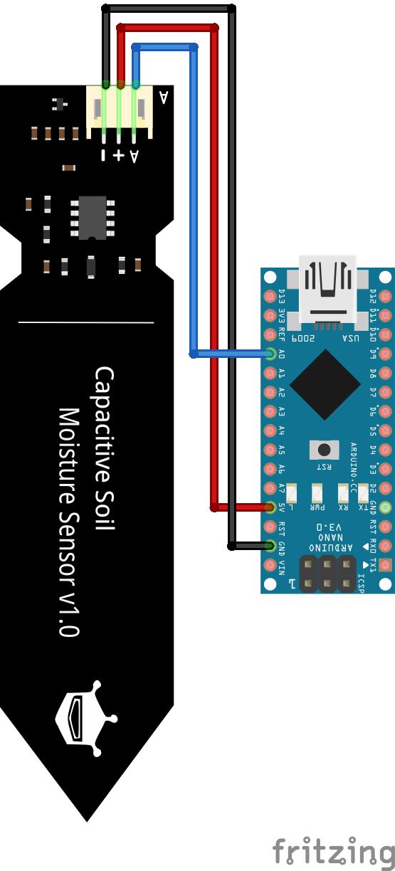 Soil Moisture Sensor Arduino Nano