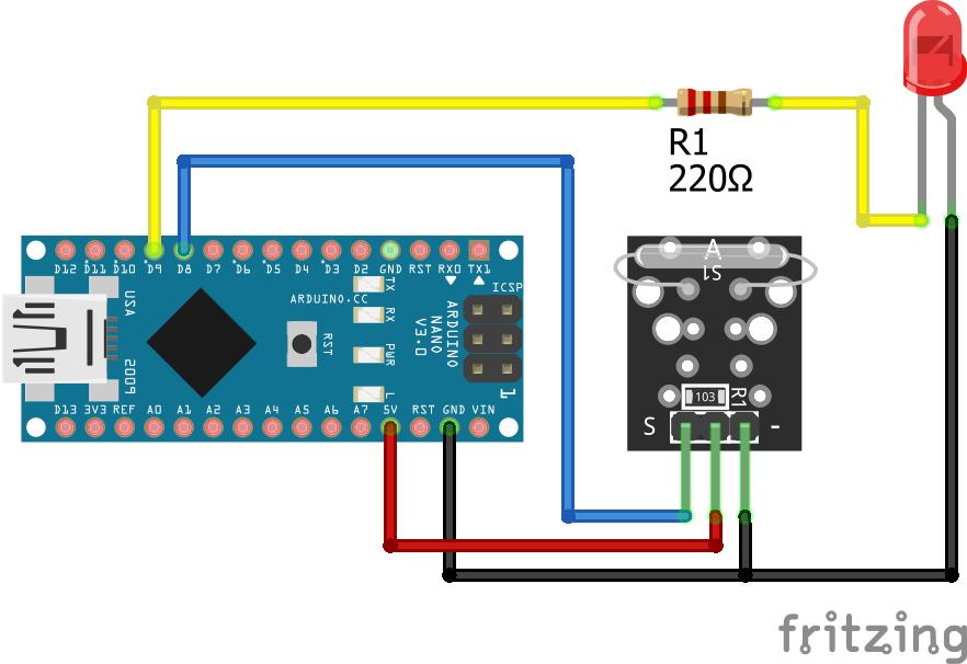 KY-021 Arduino Nano