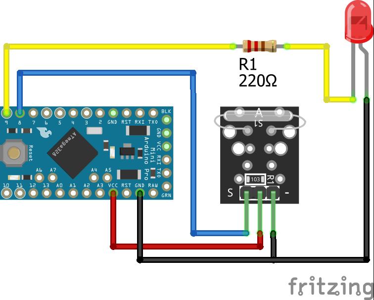 KY-021 Arduino Pro Mini