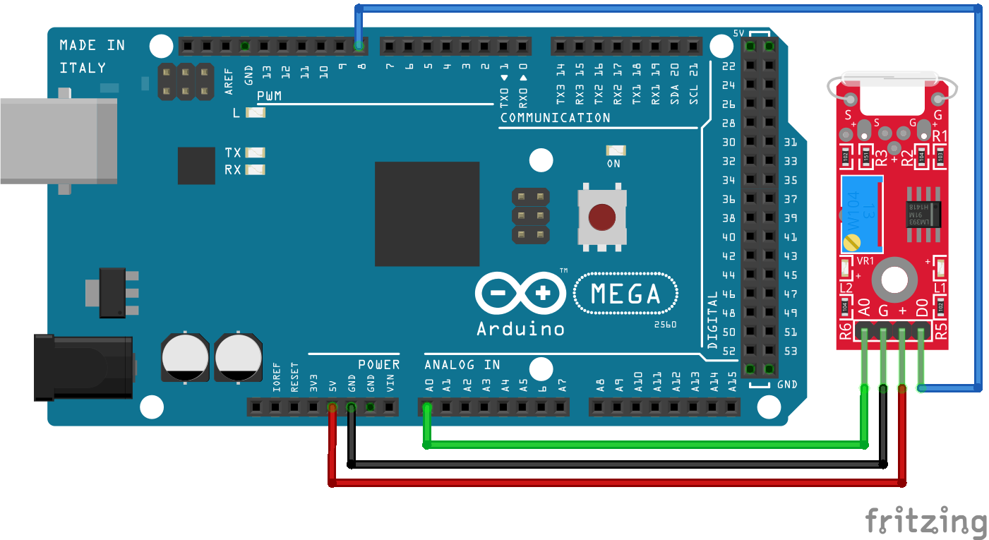 KY-025 Arduino Mega