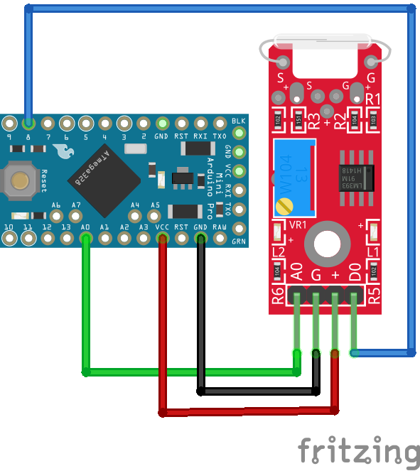 KY-025 Arduino Pro Mini