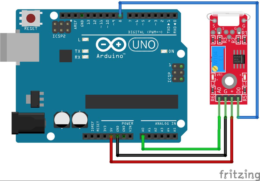 KY-025 Arduino Uno