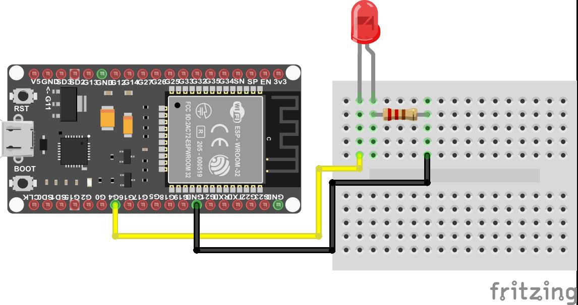 PWM LED ESP32 NodeMCU