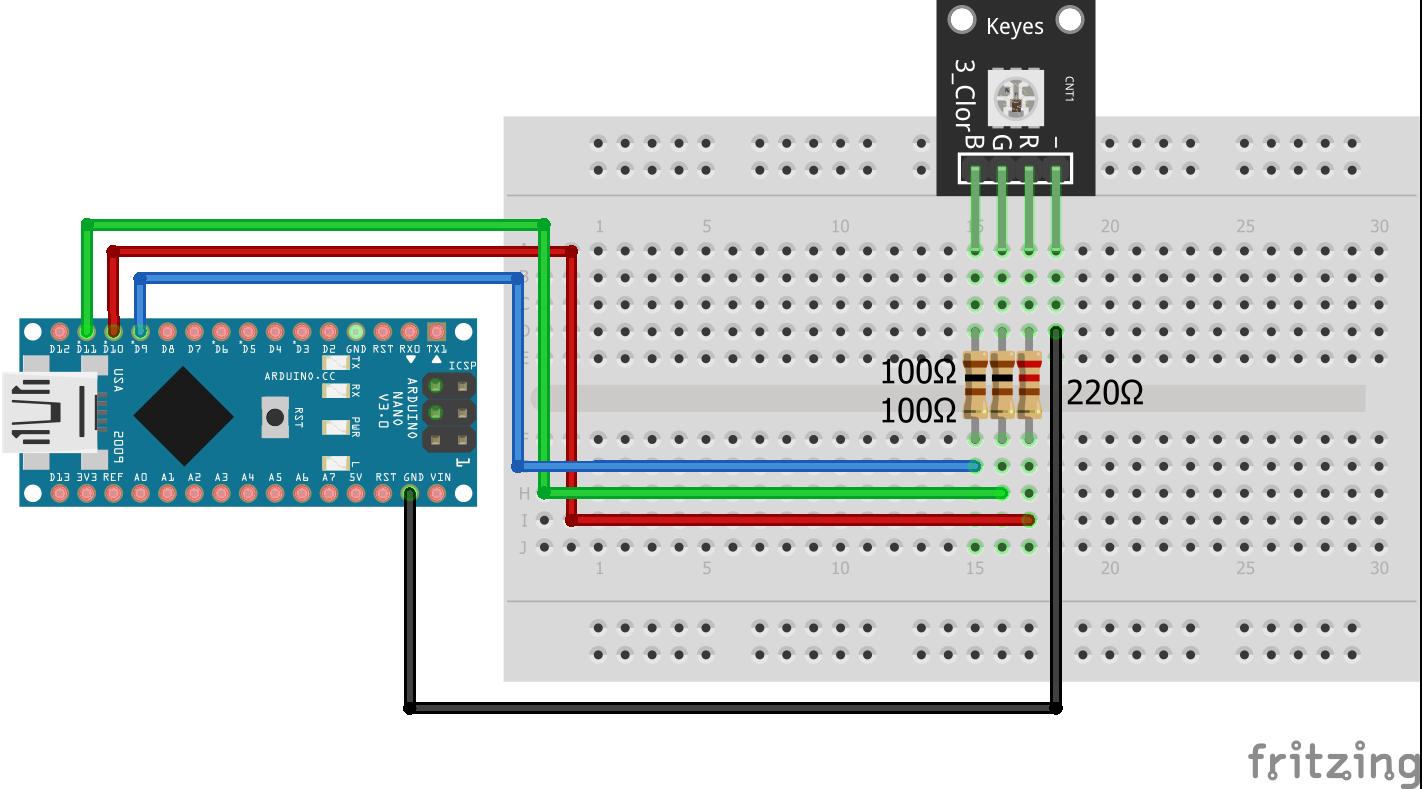 SMD RGB KY-009 Arduino Nano