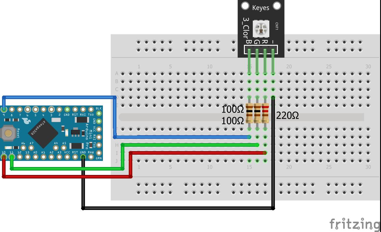 SMD RGB KY-009 Arduino Pro Mini