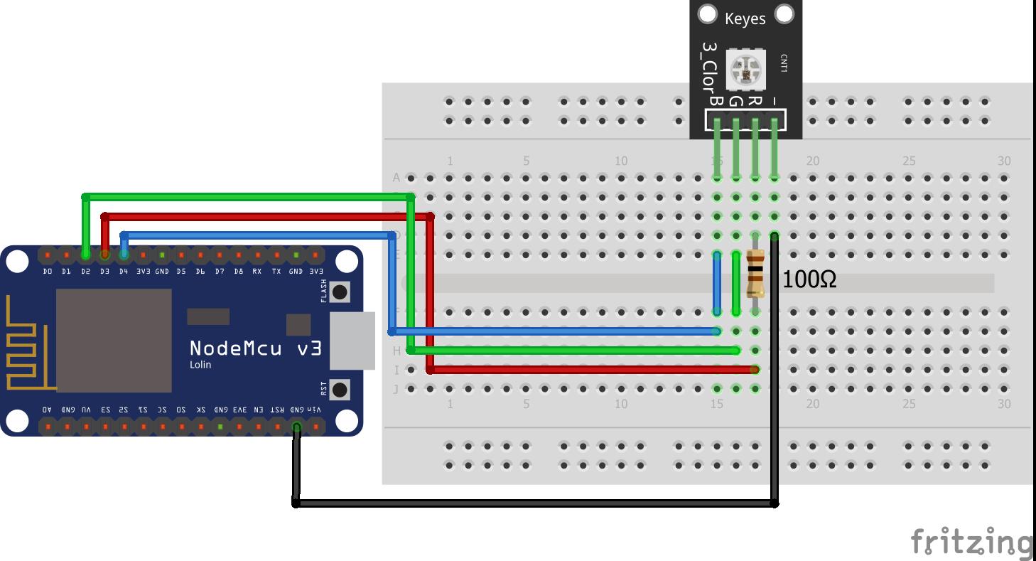 SMD RGB KY-009 ESP8266 NodeMCU
