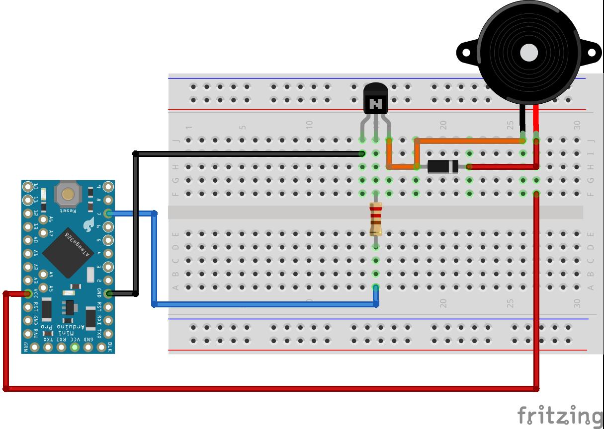 Buzzer Arduino Pro Mini