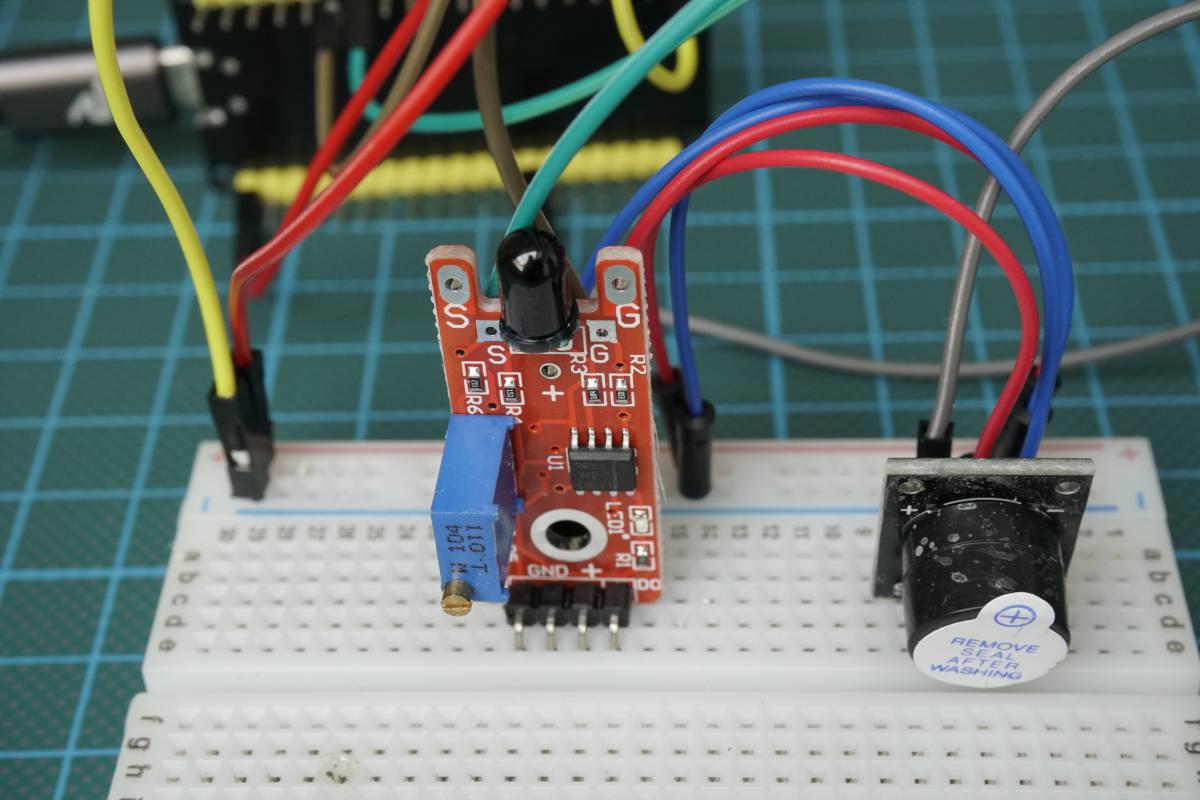KY-026 Fire Sensor
