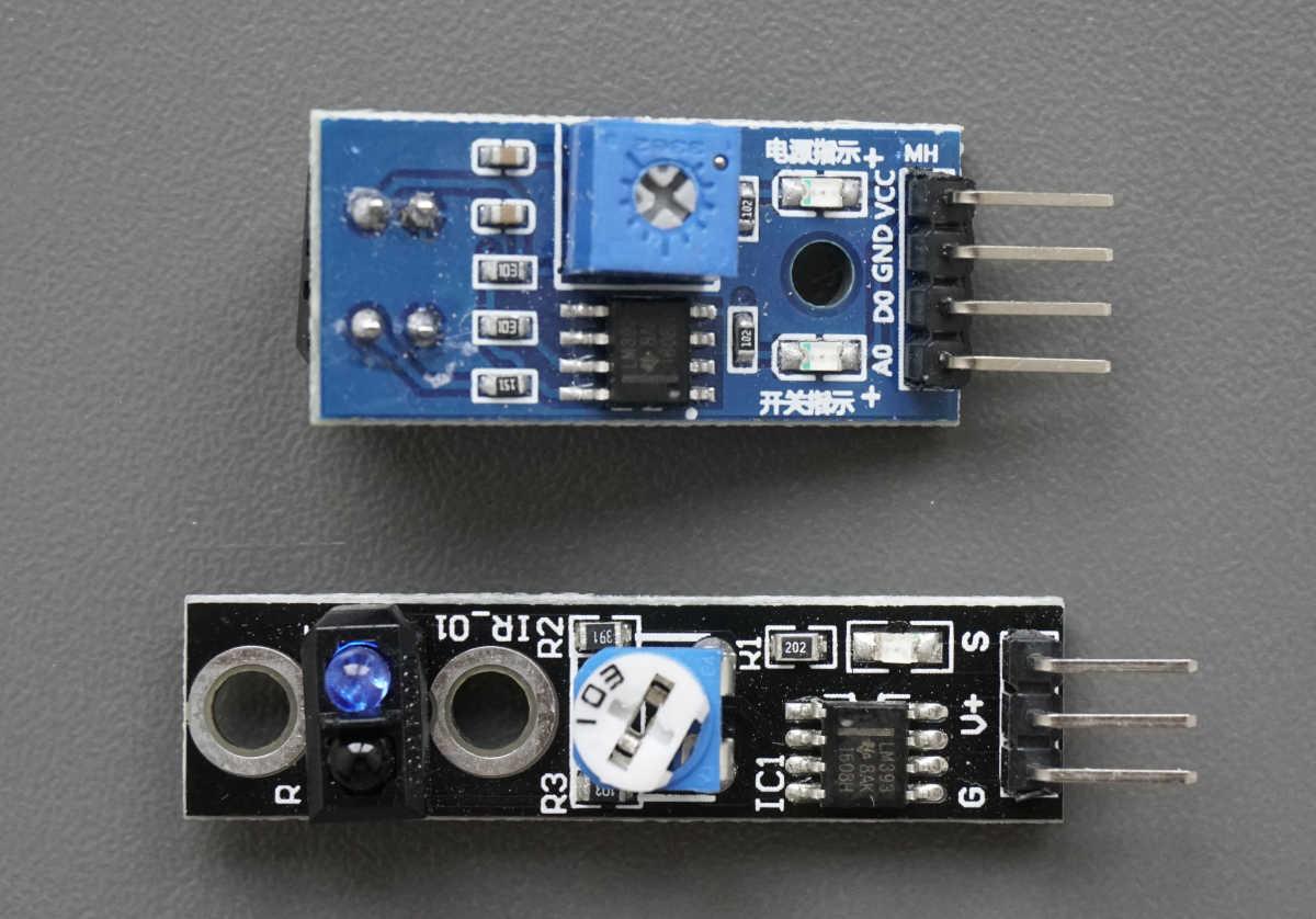 TCRT5000 Infrared Line Tracking Module Thumbnail