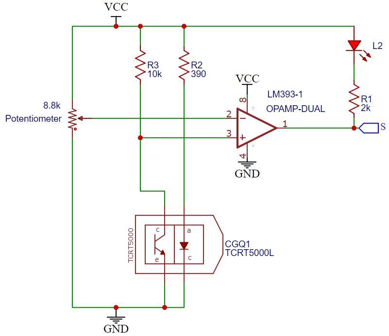 TCRT5000 KY-033 without analog output