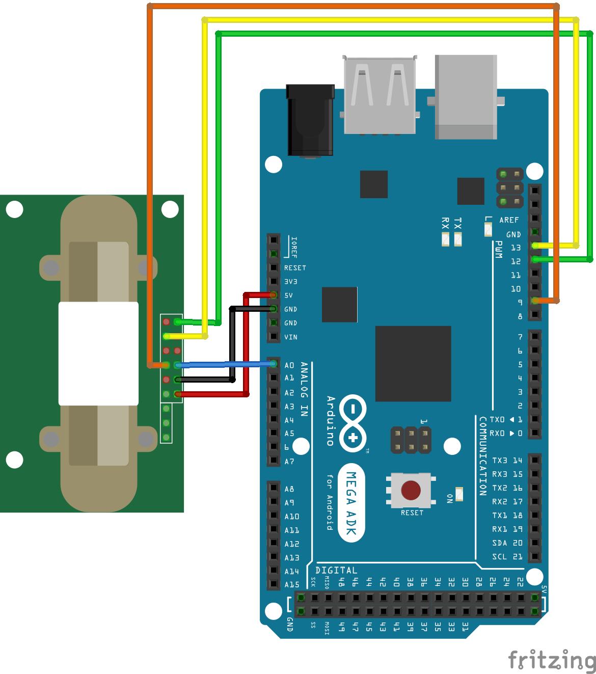 MH-Z14 Arduino Mega