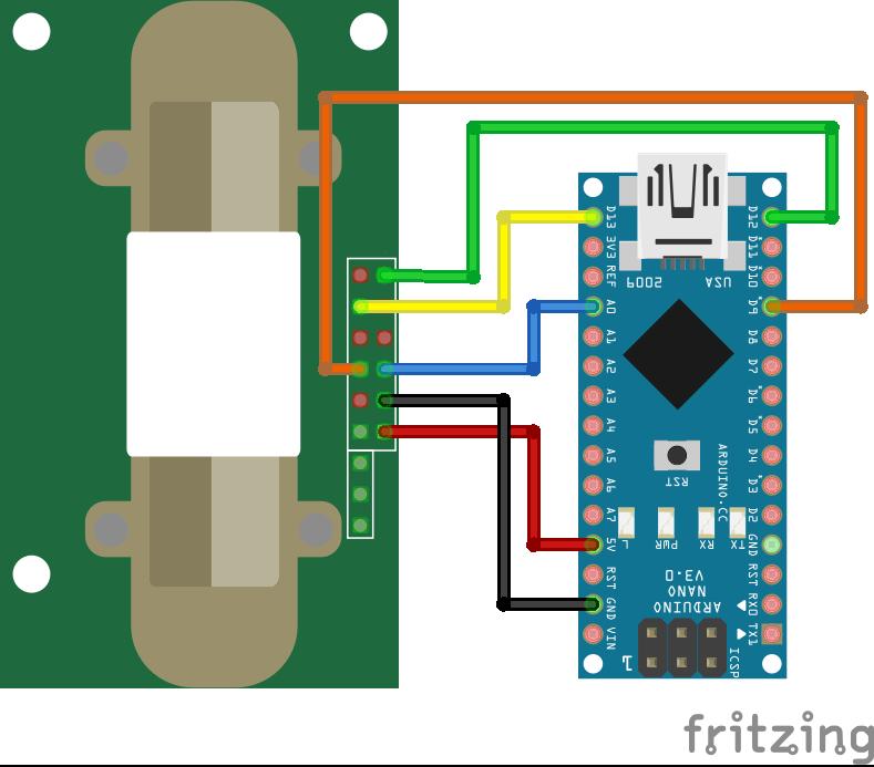 MH-Z14 Arduino Nano