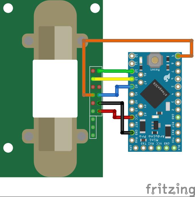 MH-Z14 Arduino Pro Mini